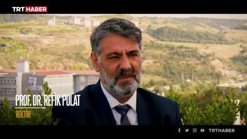 KBÜ TRT Haber'de tanıtıldı