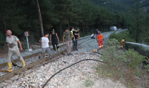 Karabük'te Orman yangını kontrol altına alındı