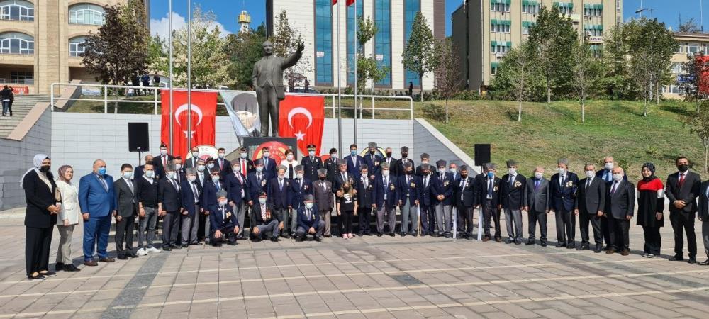 Karabük'te Gaziler Günü törenle kutlandı